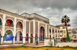 Museo di Mohamed VI di moderno e di arte contemporanea a Rabat, Marocco fotografia stock