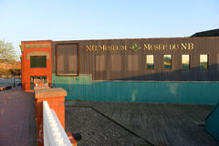 Museo di N.B.: in St John, Nuovo Brunswick, Canada immagine stock