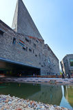 Museo di Ningbo del premio di architettura di Pritzker Fotografia Stock Libera da Diritti