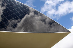 Museo di Oscar Niemeyer immagine stock libera da diritti