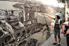 Museo di pace del Giappone Hiroshima fotografie stock