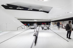 Museo di Porsche fotografia stock libera da diritti