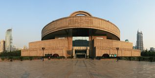 Museo di Schang-Hai fotografia stock