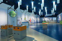 Museo di scienza Immagini Stock Libere da Diritti