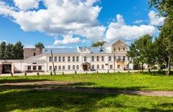 Museo di storia della città in Borovichi, Russia Immagini Stock