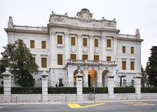 Museo di storia e marittimo del litorale del croato a Rijeka La Croazia Fotografie Stock