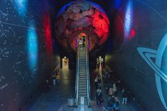 Museo di storia naturale - Londra immagine stock