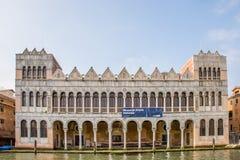 Museo di Storia Naturale - museo de la naturaleza en Venecia, Italia Fotografía de archivo