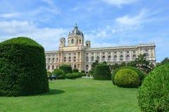 Museo di storia naturale a Vienna Immagini Stock Libere da Diritti