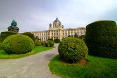 Museo di storia naturale, Vienna fotografie stock libere da diritti