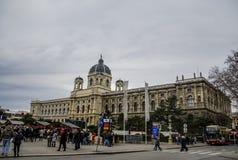 Museo di storia naturale, Vienna, Austria Fotografia Stock Libera da Diritti