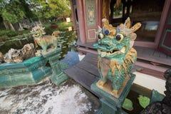 Museo di storia in Tailandia Immagine Stock Libera da Diritti
