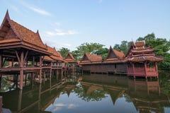 Museo di storia in Tailandia Fotografie Stock Libere da Diritti