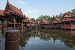 Museo di storia in Tailandia Fotografia Stock Libera da Diritti