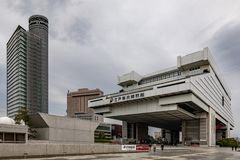 Museo di Tokyo Edo City History Museum Punto di riferimento architettonico di Tokyo immagini stock libere da diritti