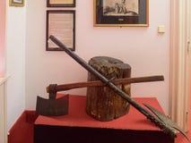 Museo di tortura, Praga Fotografia Stock