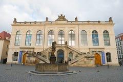 Museo di trasporto a Dresda Fotografie Stock