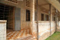 Museo di Tuol Sleng Immagini Stock