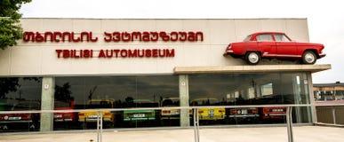 Museo di vecchie automobili sovietiche Immagine Stock