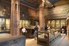 Museo di Vienna - Egitto antico Immagine Stock
