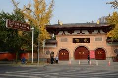 Museo di Yongling a Chengdu, porcellana Immagine Stock Libera da Diritti