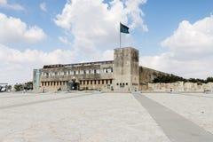 Museo e cortile militari di Latrun Immagini Stock Libere da Diritti