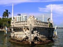 Museo e giardini di Vizcaya Immagini Stock