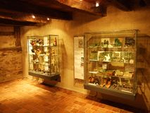 Museo en el castillo de Hohenklingen, Stein am Rhein imagen de archivo
