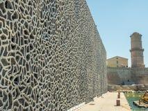 Museo en el puerto de Marsella Imagen de archivo