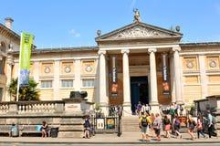 Museo en Oxford, Inglaterra fotografía de archivo libre de regalías