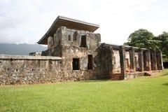 Museo en Trujillo, Honduras fotos de archivo libres de regalías