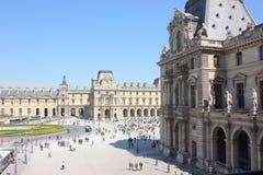 Museo esterno del Louvre Immagine Stock