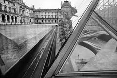 Museo famoso del Louvre Foto de archivo