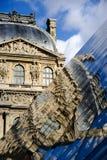 Museo famoso del Louvre Fotos de archivo libres de regalías
