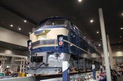 Museo ferroviario de Kyoto foto de archivo libre de regalías