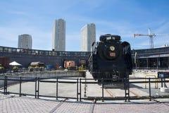 Museo ferroviario di Toronto Fotografie Stock