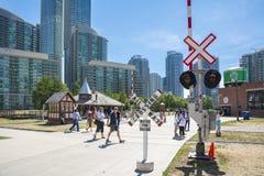 Museo ferroviario di Toronto Fotografia Stock Libera da Diritti