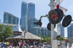 Museo ferroviario di Toronto Immagini Stock Libere da Diritti