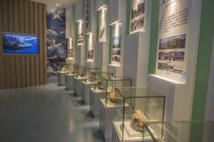 Museo geológico del clavo de oro de Zhejiang Changxing imagenes de archivo