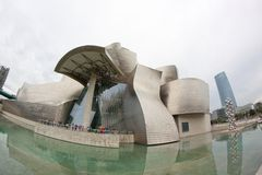 Museo Guggenheim Bilbao Immagine Stock