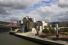 Museo Guggenheim Bilbao Fotografie Stock