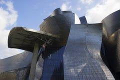 Museo Guggenheim Bilbao dei dettagli Fotografia Stock Libera da Diritti