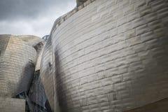 Museo Guggenheim dall'architetto Frank Gehry a Bilbao Fotografie Stock Libere da Diritti