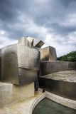 Museo Guggenheim dall'architetto Frank Gehry a Bilbao Fotografie Stock