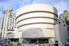 Museo Guggenheim di Solomon R., New York Fotografia Stock Libera da Diritti