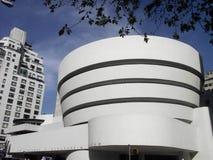 Museo Guggenheim, New York immagini stock