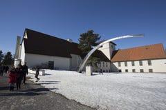 Museo histórico de las naves de Vikingos Imagen de archivo libre de regalías
