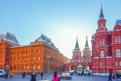005 - Museo histórico del estado en Moscú, Rusia Configuración histórica imagen de archivo