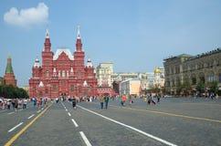 Museo histórico en el cuadrado rojo, Moscú, Rusia Fotos de archivo