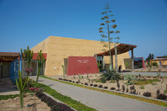 Museo Huacas de Moche Stock Photo